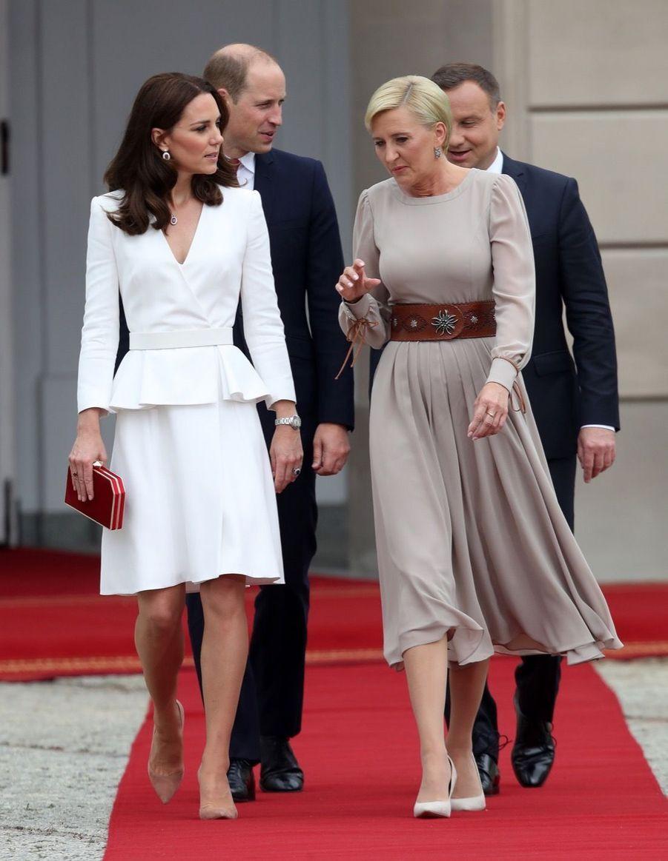 Kate Et William, Première Journée De Visite À Varsovie 10