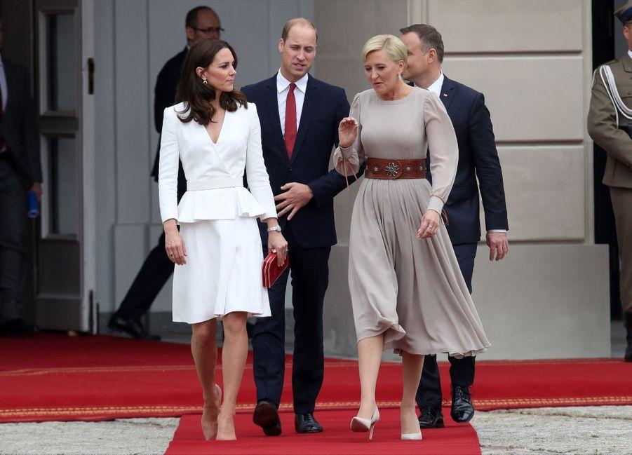 Kate Et William, Première Journée De Visite À Varsovie 11