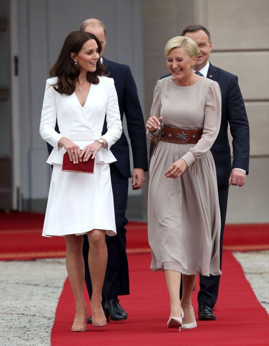 Kate Et William, Première Journée De Visite À Varsovie 12