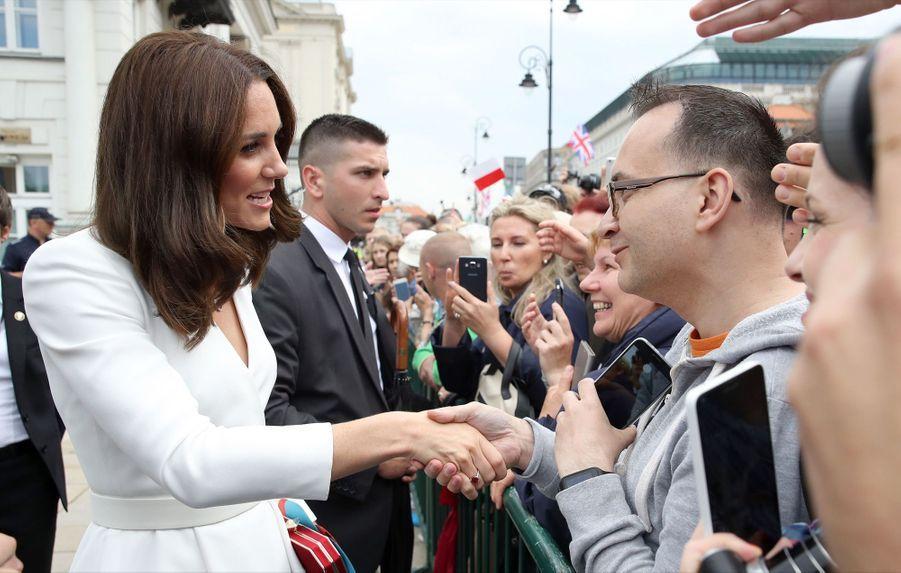 Kate Et William, Première Journée De Visite À Varsovie 13