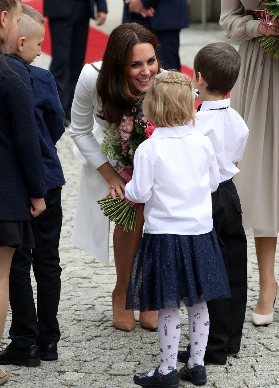 Kate Et William, Première Journée De Visite À Varsovie 15