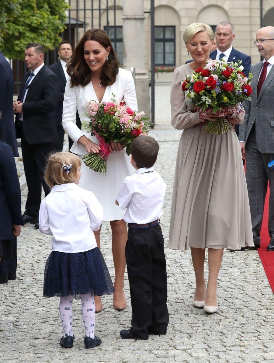 Kate Et William, Première Journée De Visite À Varsovie 16