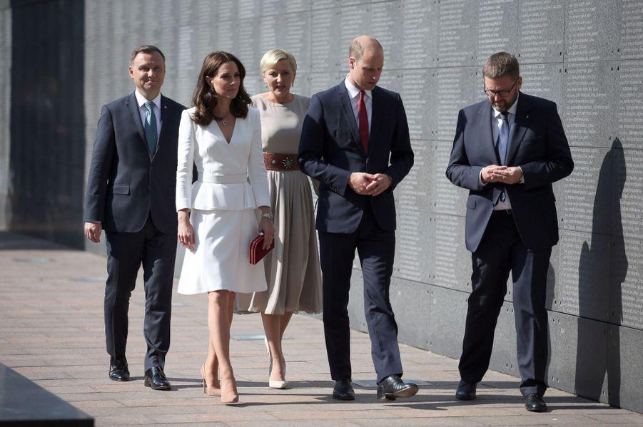 Kate Et William, Première Journée De Visite À Varsovie 18