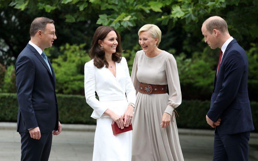 Kate Et William, Première Journée De Visite À Varsovie 2