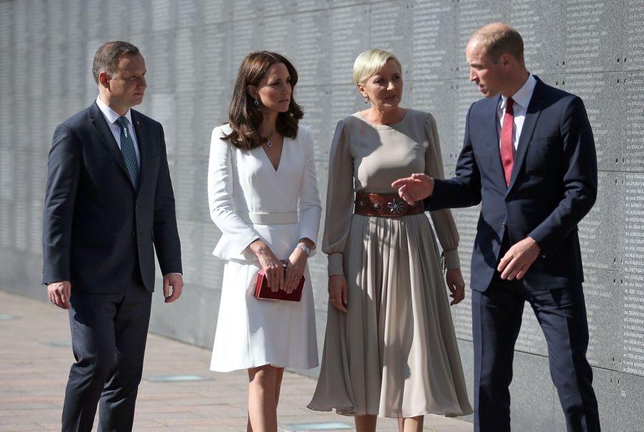 Kate Et William, Première Journée De Visite À Varsovie 21