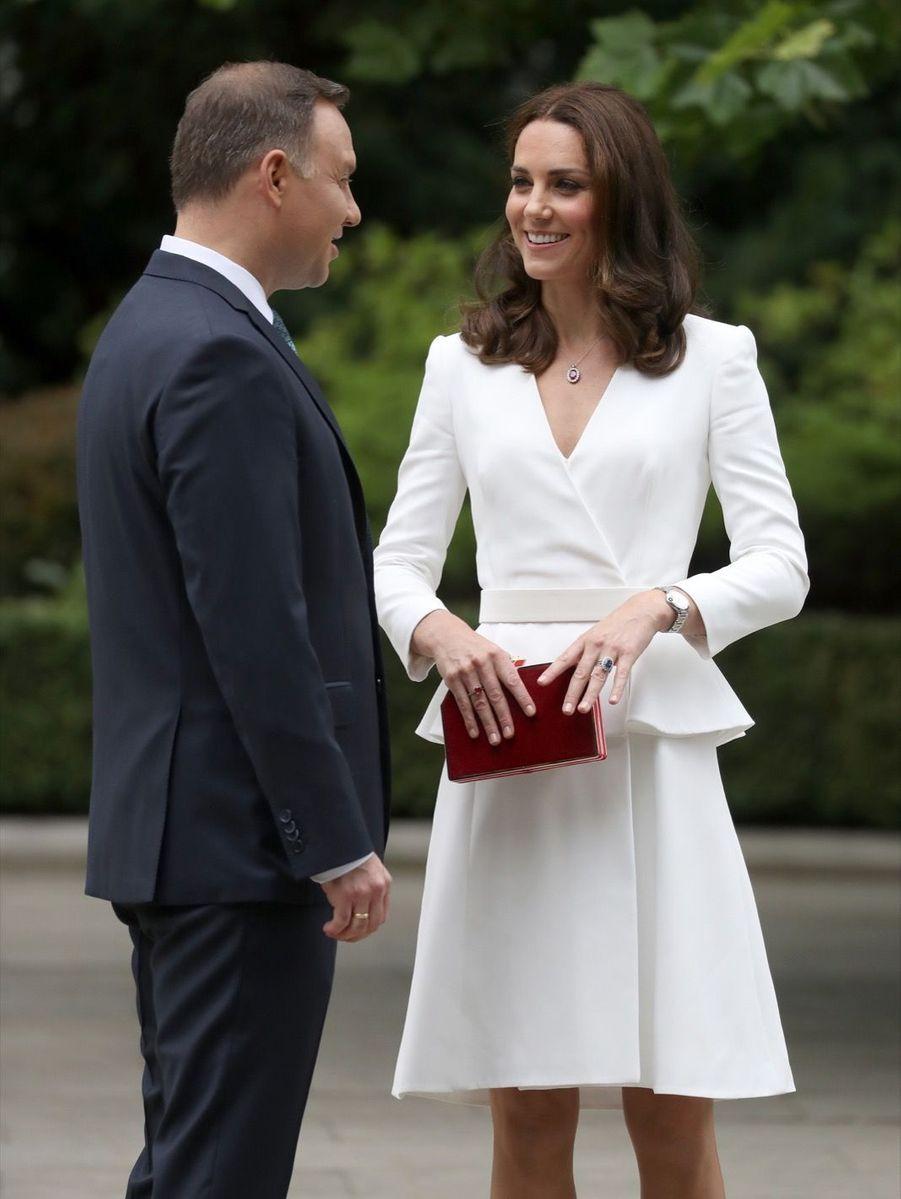 Kate Et William, Première Journée De Visite À Varsovie 3