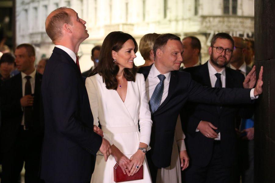 Kate Et William, Première Journée De Visite À Varsovie 30