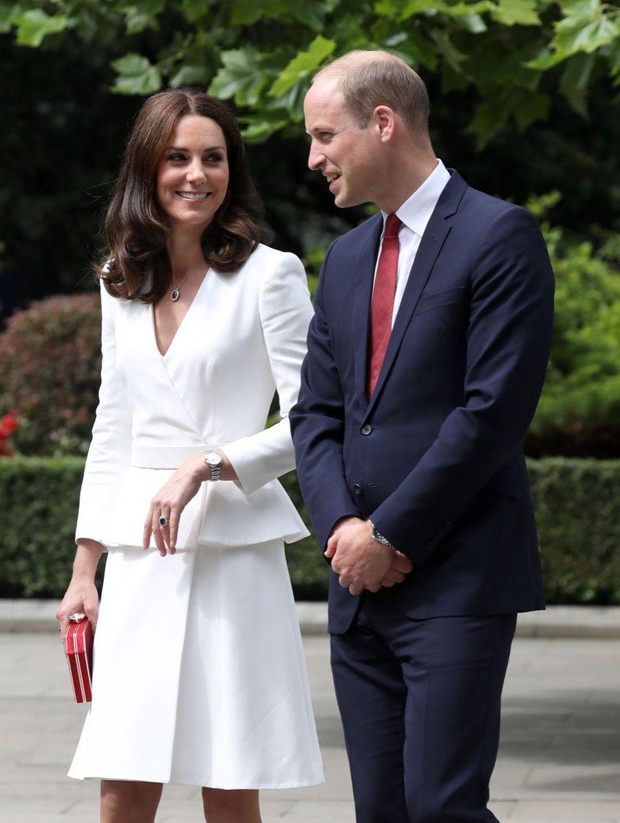 Kate Et William, Première Journée De Visite À Varsovie 32
