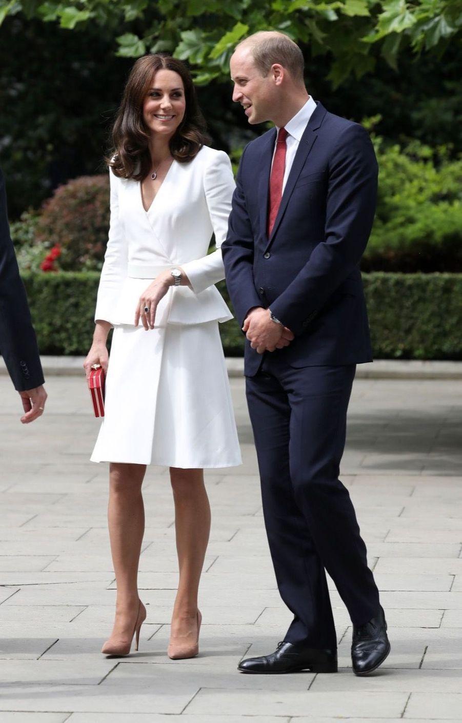 Kate Et William, Première Journée De Visite À Varsovie 33