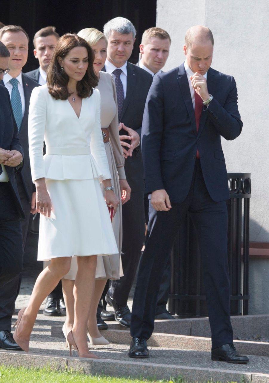 Kate Et William, Première Journée De Visite À Varsovie 38