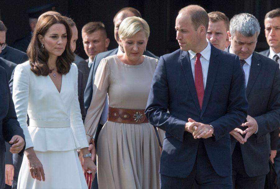 Kate Et William, Première Journée De Visite À Varsovie 39