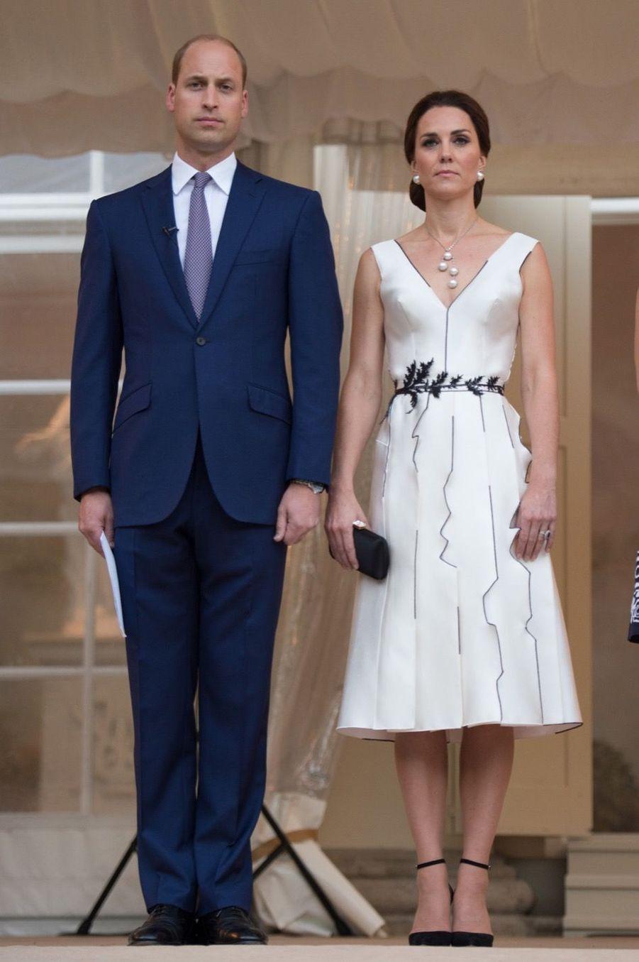 Kate Et William, Première Journée De Visite À Varsovie 45