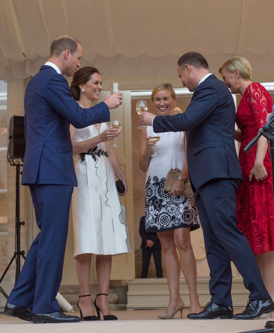 Kate Et William, Première Journée De Visite À Varsovie 46