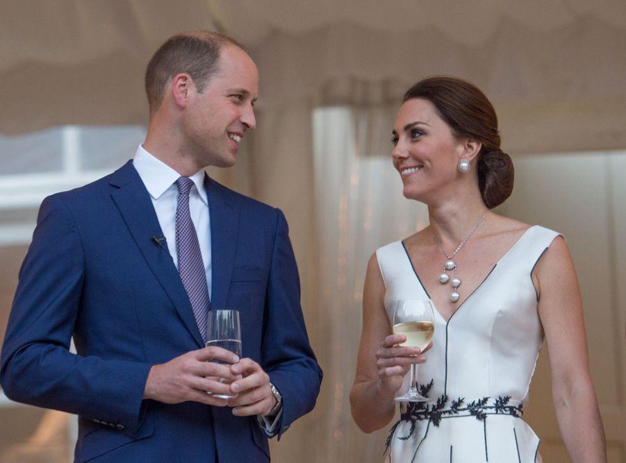 Kate Et William, Première Journée De Visite À Varsovie 55
