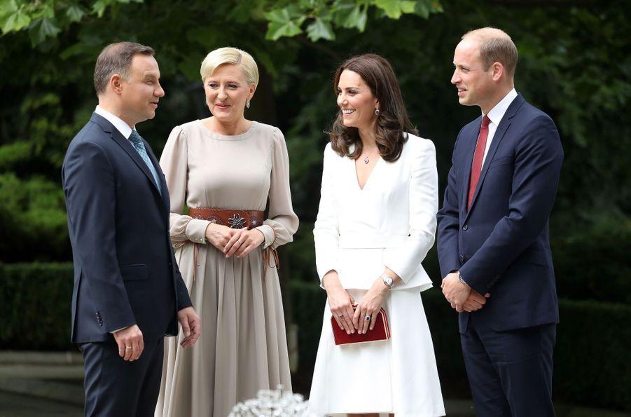 Kate Et William, Première Journée De Visite À Varsovie 7