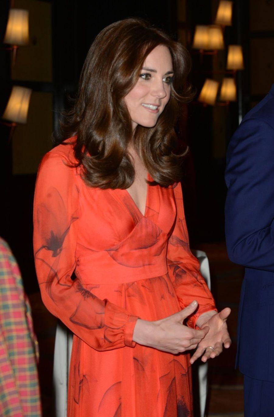 Kate et William rencontrent le roi dragon et sa sublime reine
