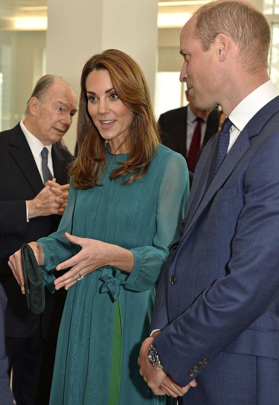 Kate Middleton et le prince Williamà Londres le 2 octobre 2019