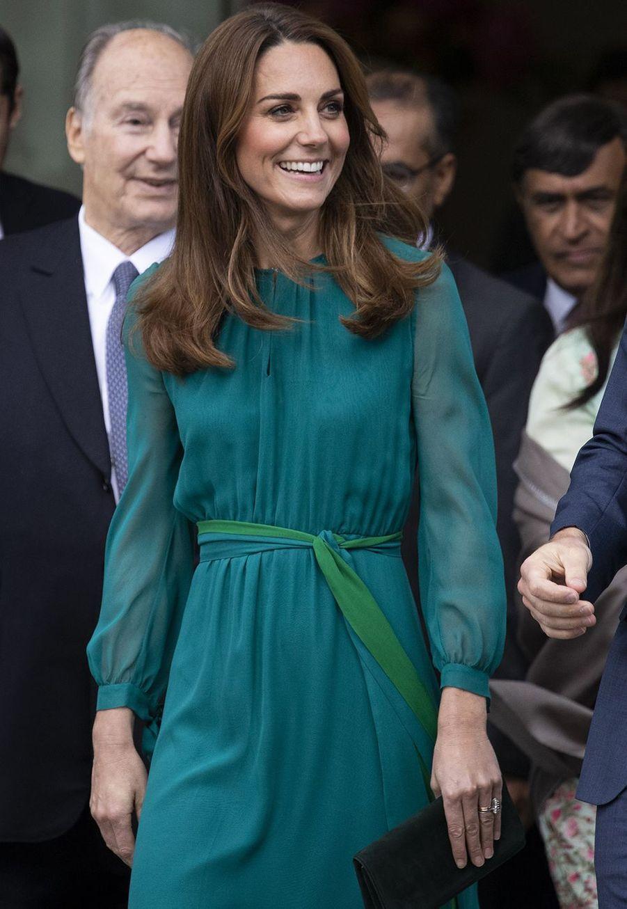 Kate Middletonà Londres le 2 octobre 2019
