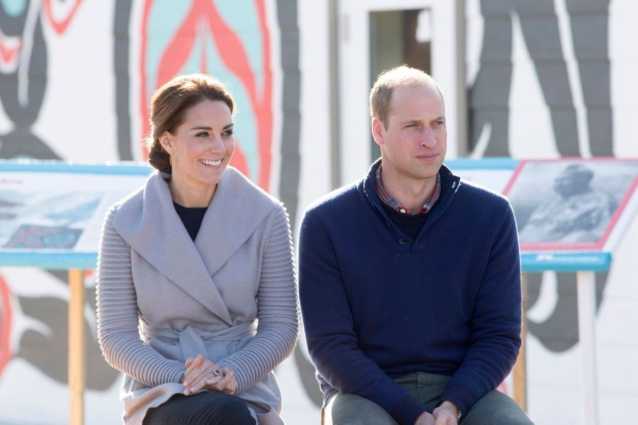 Kate et William revivent l'épopée du train à vapeur