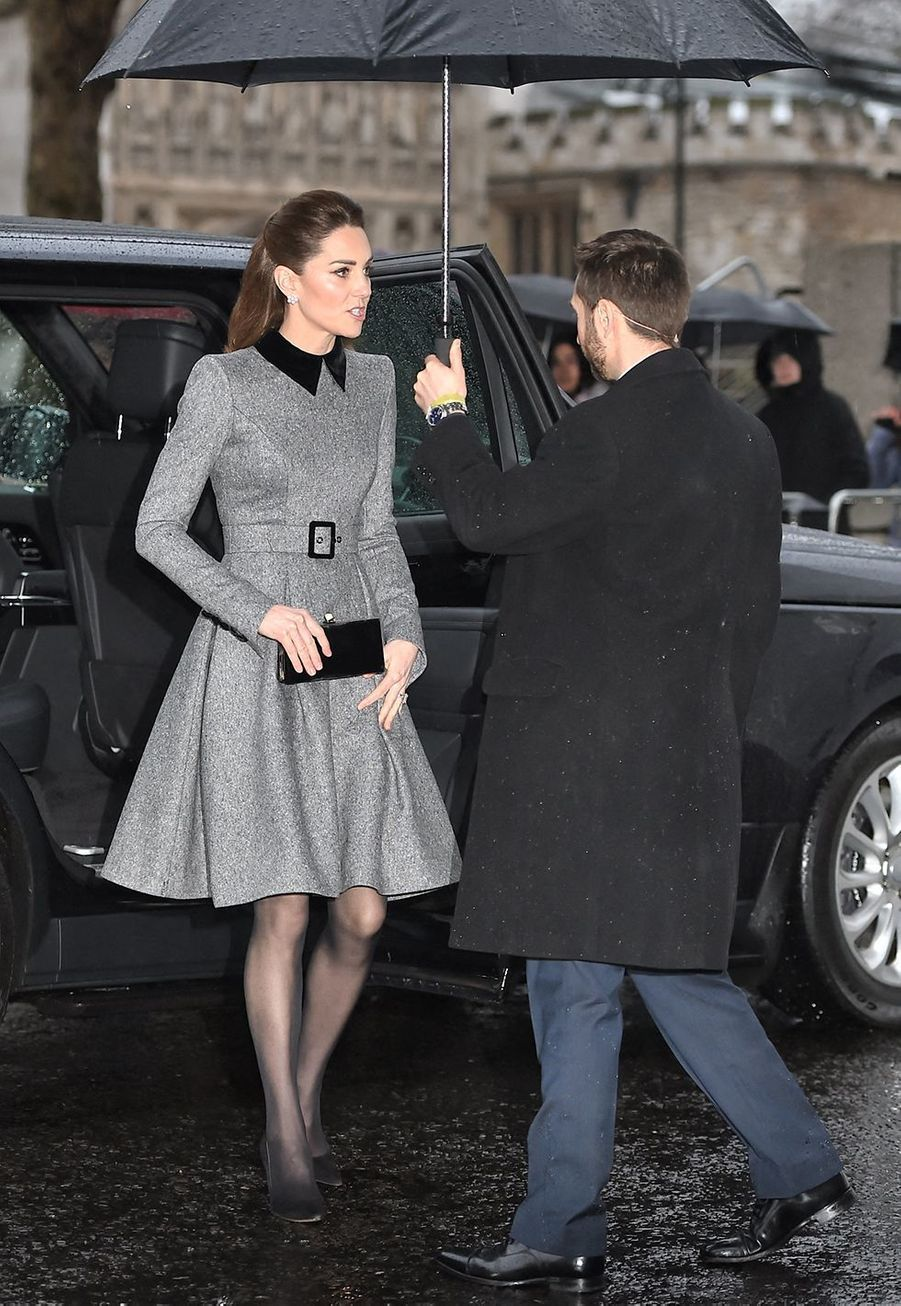 Kate Middleton à Londres le 27 janvier 2020