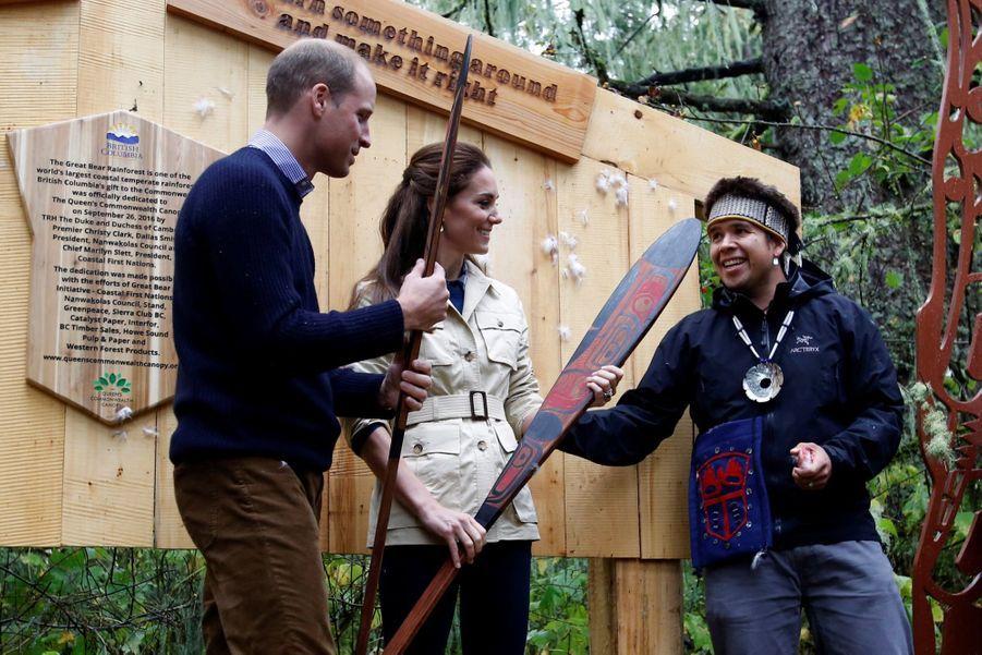 Kate et William sous la Canopée de l'Ouest Canadien