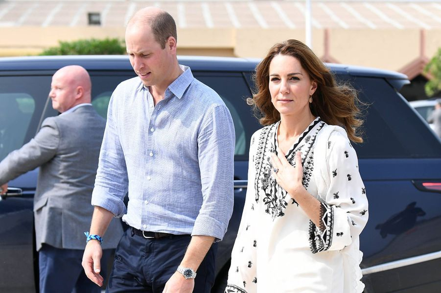 Kate Middleton et le prince William quittent Lahore pour rejoindre Islamabad le 18 octobre 2019