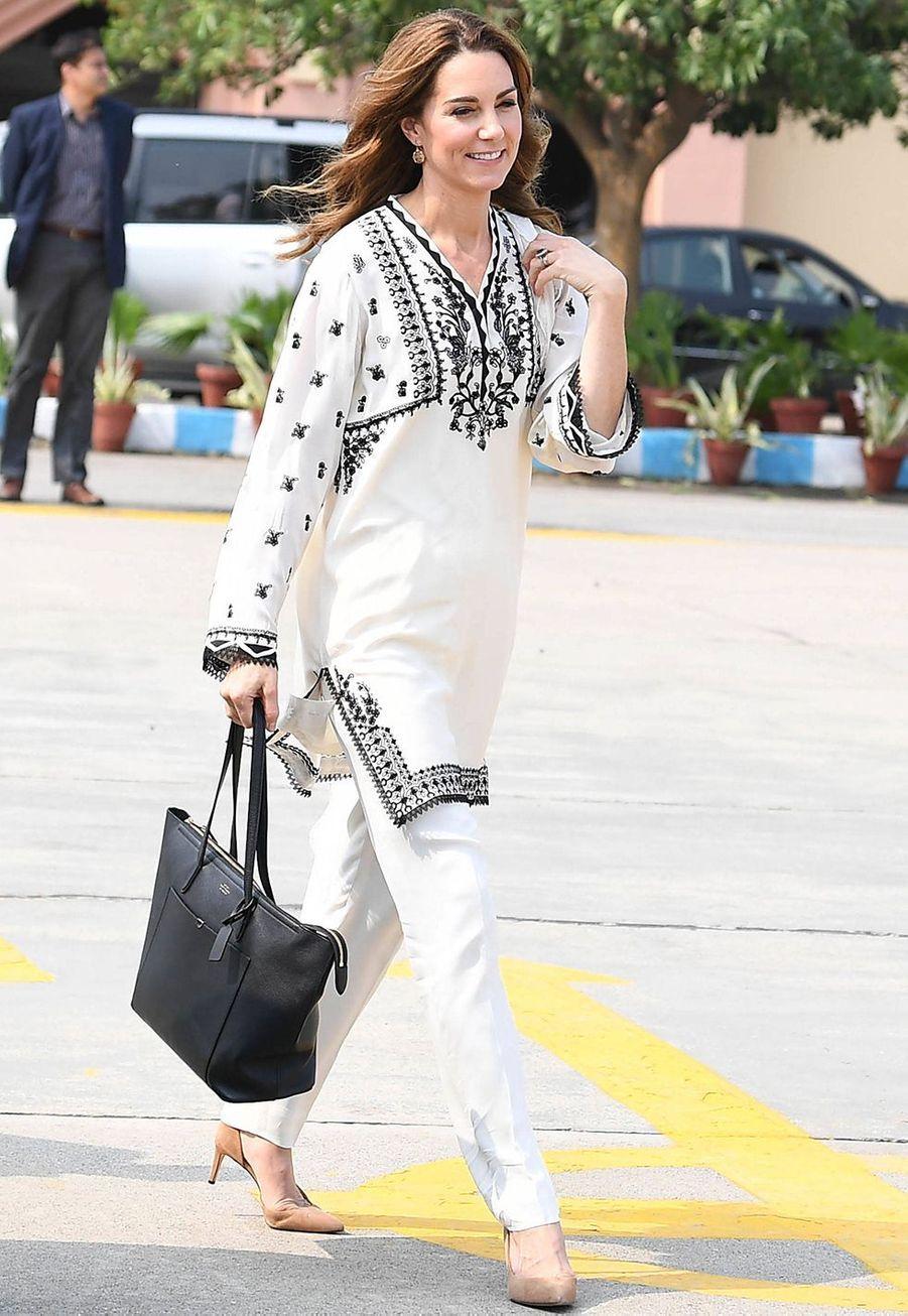 Kate Middleton quitte Lahore pour rejoindre Islamabad le 18 octobre 2019