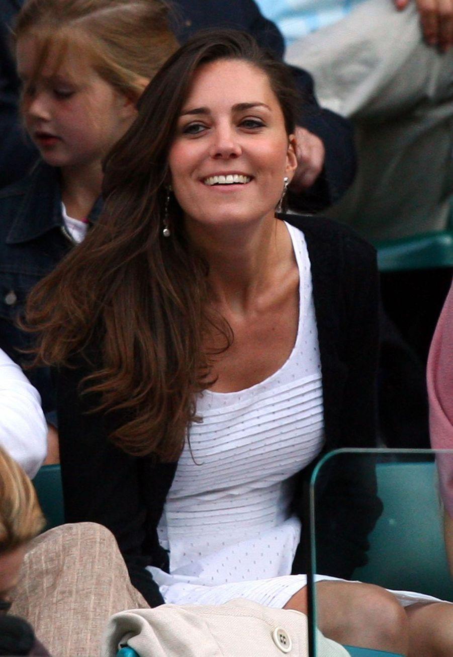Kate Middleton à Wimbledon en 2008