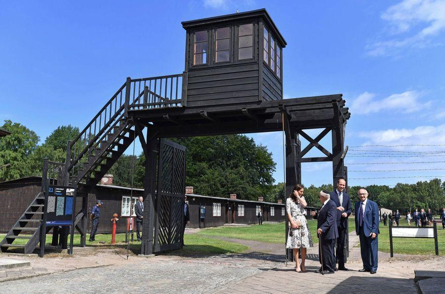 Kate Et William Visitent Le Camp De Concentration De Stutthof, En Pologne 26