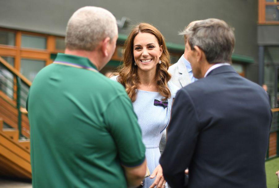 Kate Middleton à Wimbledon le 14 juillet 2019