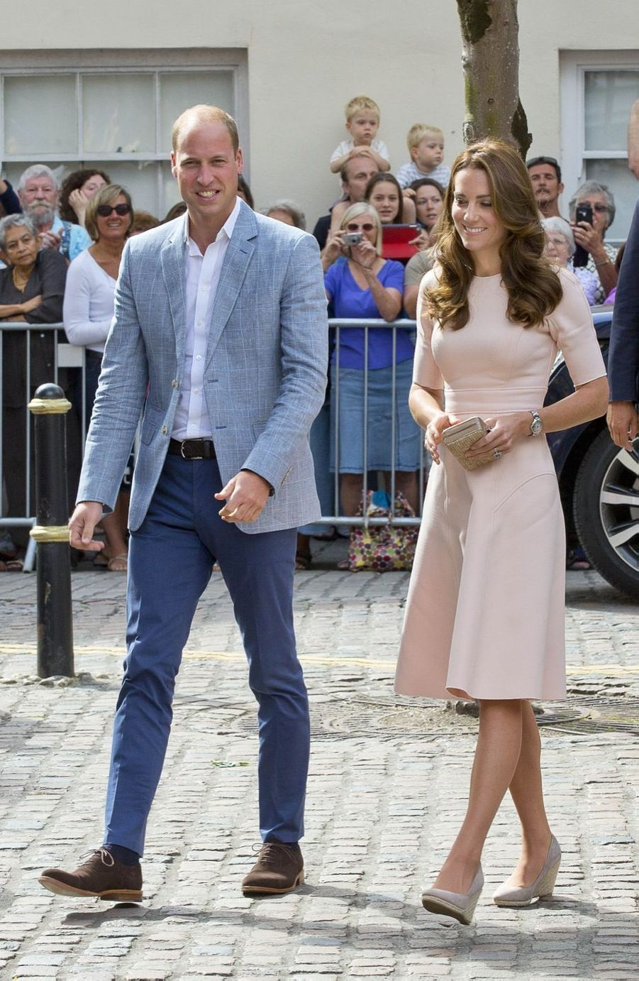 Kate et William visitent leur futur duché