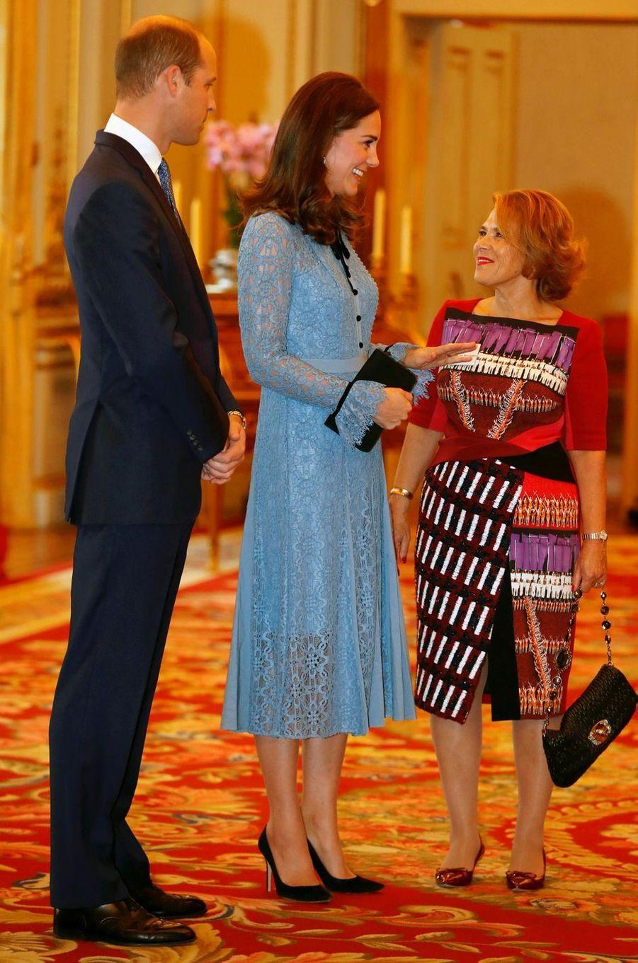 La duchesse de Cambridge à Londres le 10 octobre 2017