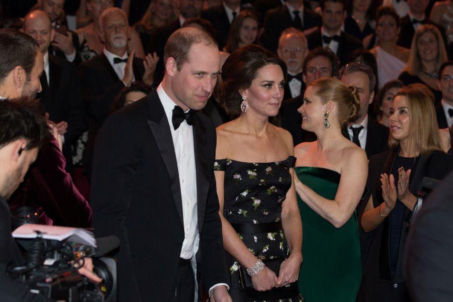 Kate Et William À La Cérémonie Des Bafta 2017 22