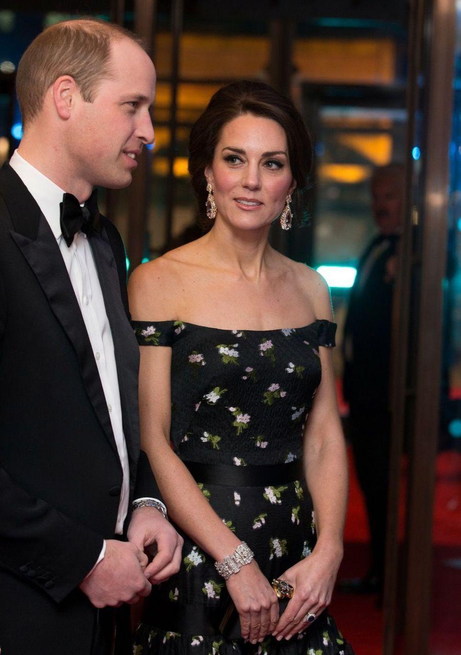 Kate Et William À La Cérémonie Des Bafta 2017 25