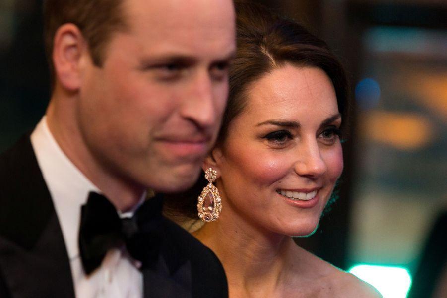 Kate Et William À La Cérémonie Des Bafta 2017 27