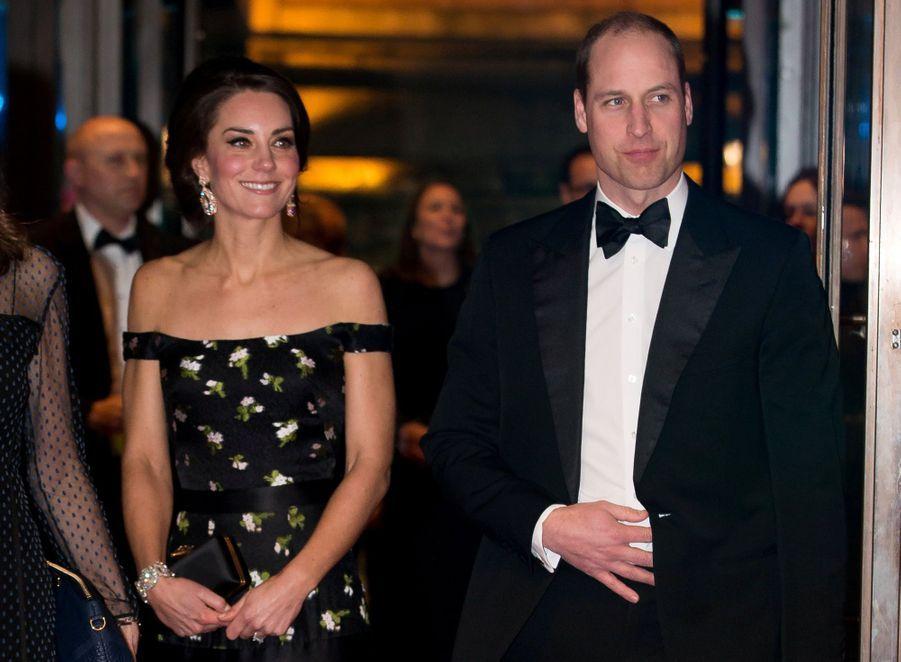 Kate Et William À La Cérémonie Des Bafta 2017 28