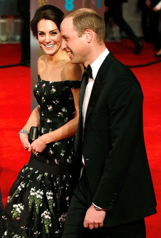 Kate Et William À La Cérémonie Des Bafta 2017 4