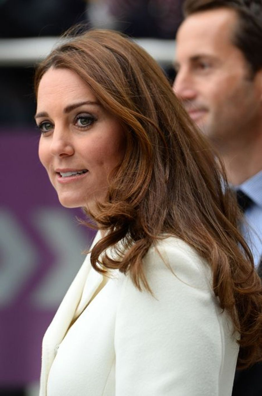 Kate ex-Middleton à Portsmouth, le 12 février 2015