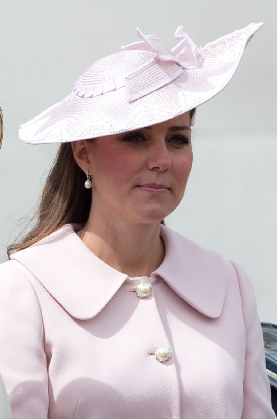 La duchesse Catherine de Cambridge à la cérémonie Trooping the Colour à Londres le 15 juin 2013