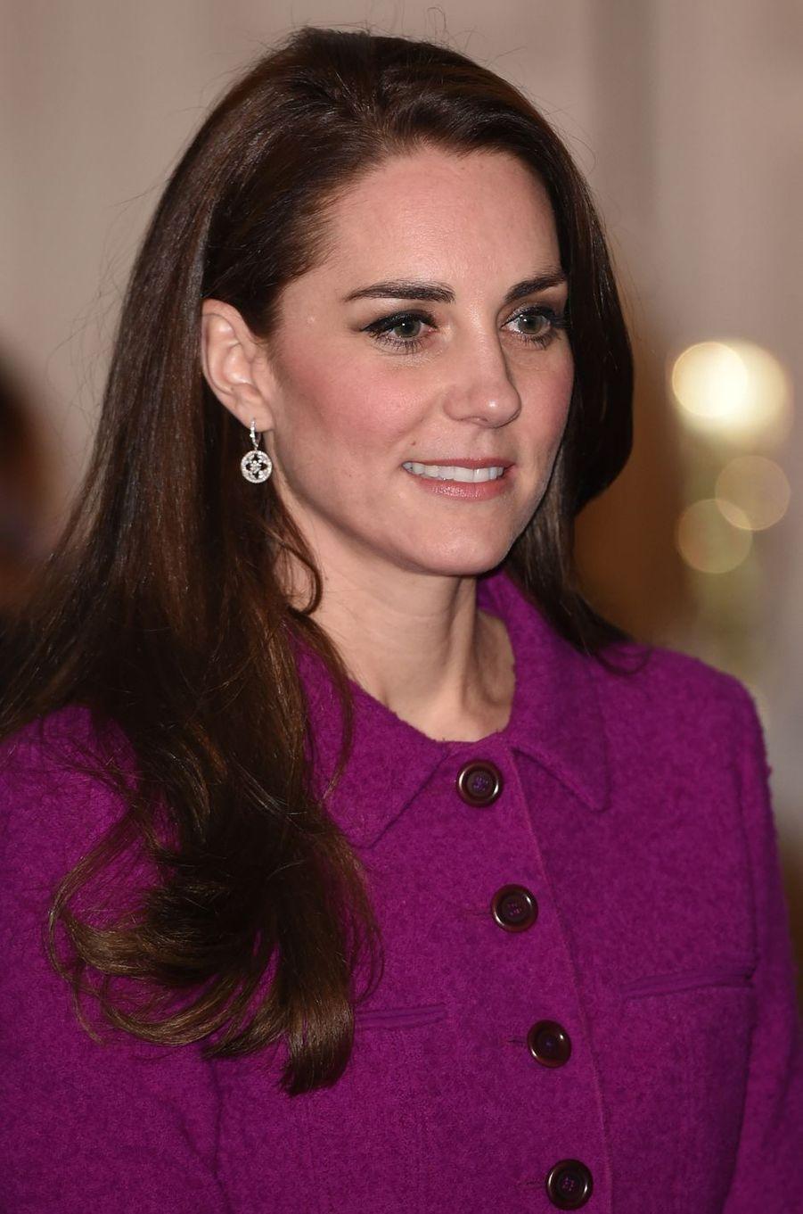 Kate Middleton à Londres, le 6 février 2017