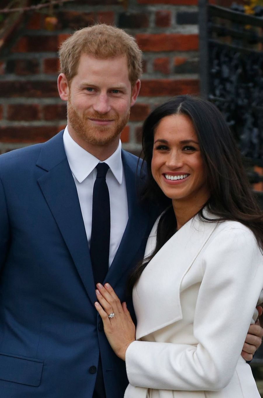 Diamants pour Meghan Markle, fiancée au prince Harry en 2017