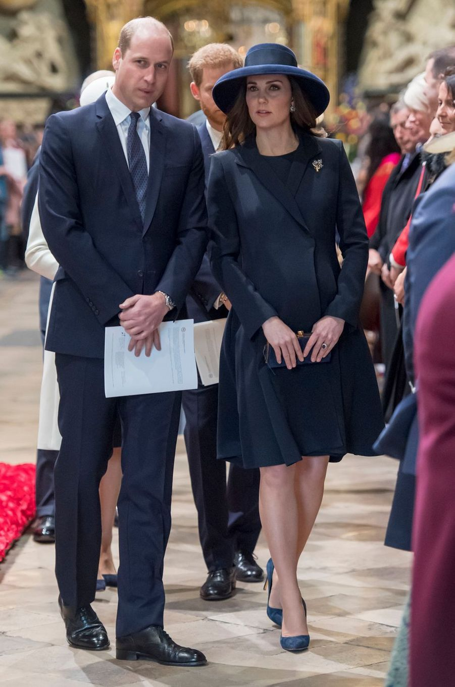 La duchesse Catherine de Cambridge à Londres, le 12 mars 2018