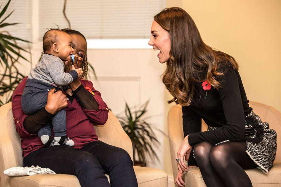 La duchesse Catherine de Cambridge, le 4 novembre 2016