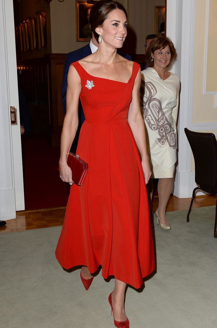 Kate Middleton le 26 septembre 2016 dans une robe Preen à 1 000 livres