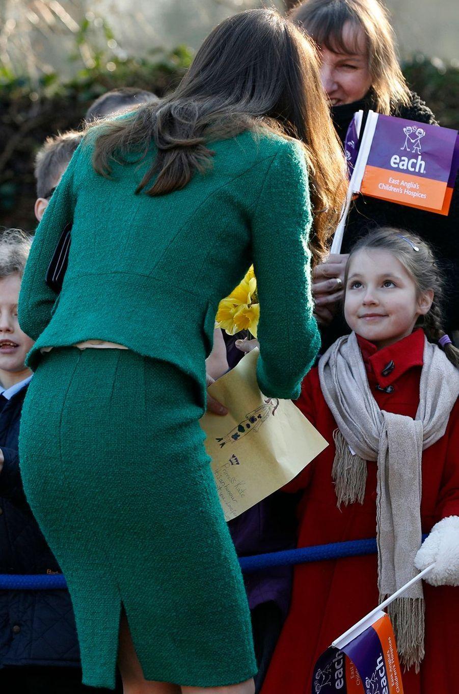 Kate Middleton À Quidenham Le 24 Janvier 2017 10