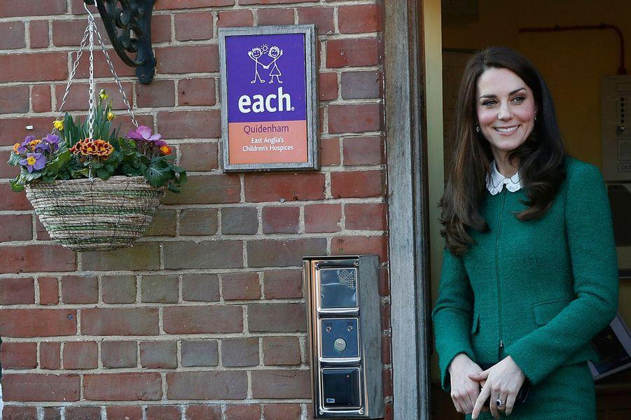 Kate Middleton À Quidenham Le 24 Janvier 2017 11