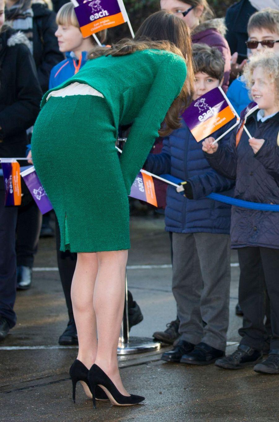 Kate Middleton À Quidenham Le 24 Janvier 2017 5