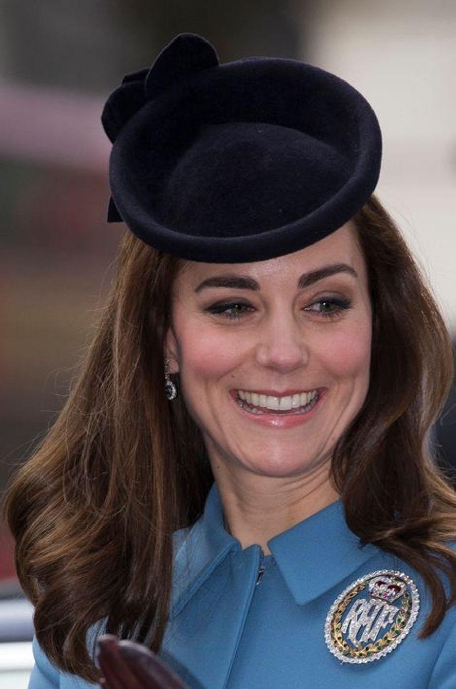 La duchesse Catherine de Cambridge à Londres, le 7 février 2016