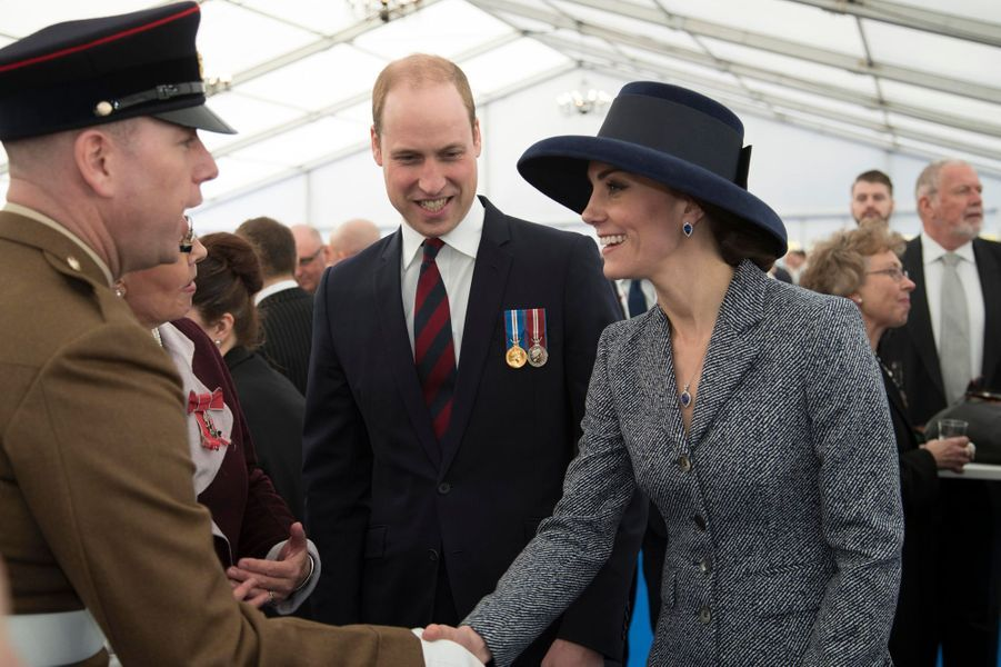 Kate Middleton et le prince William à Londres, le 9 mars 2017