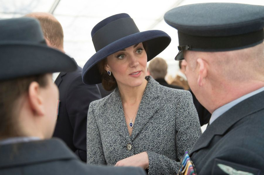 La duchesse Catherine de Cambridge à Londres, le 9 mars 2017